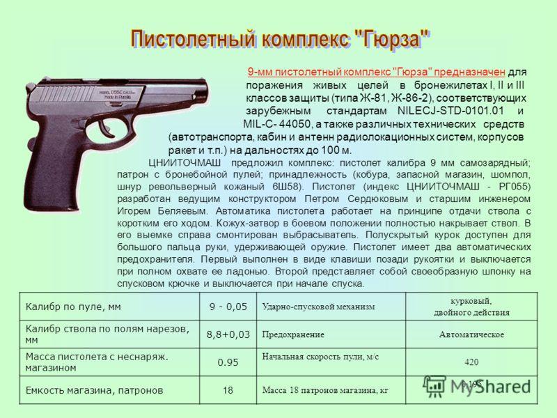 9-мм пистолетный комплекс