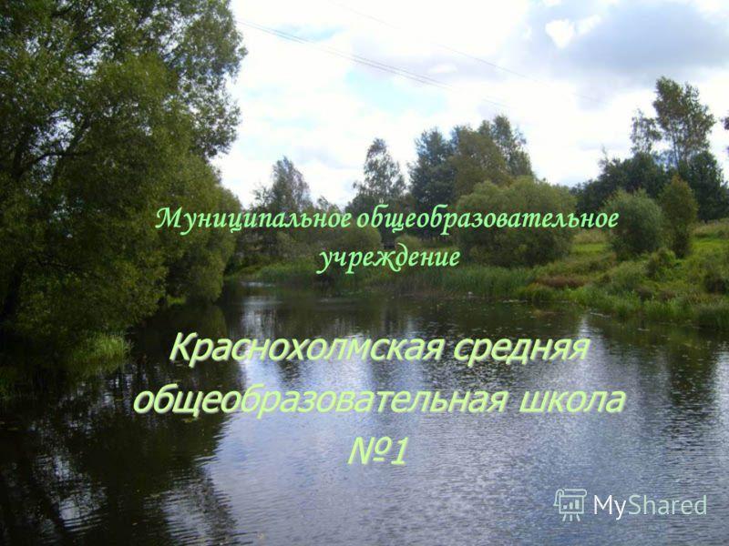 Муниципальное общеобразовательное учреждение Краснохолмская средняя общеобразовательная школа 1