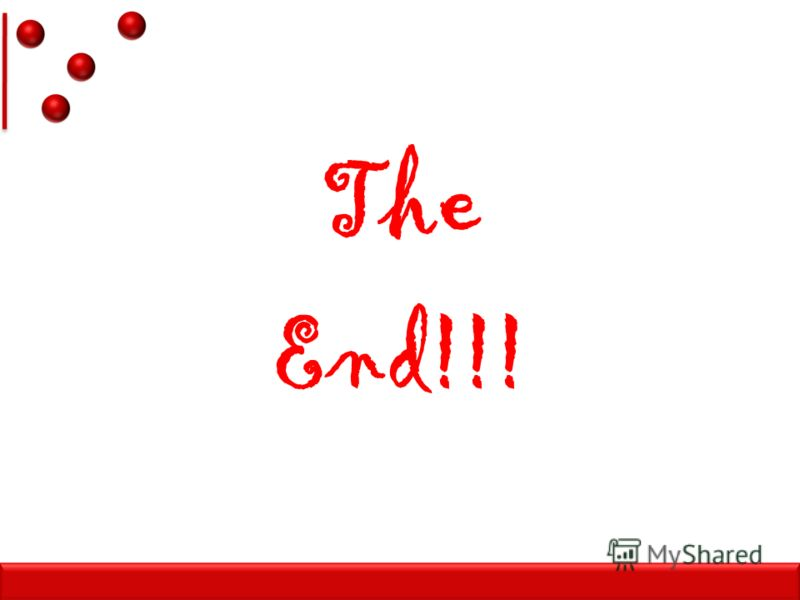 TheEnd!!!