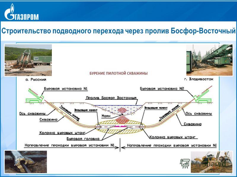 9 Строительство подводного перехода через пролив Босфор-Восточный