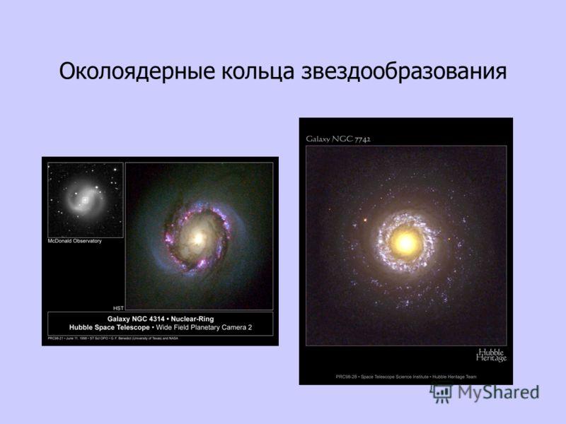 Околоядерные кольца звездообразования