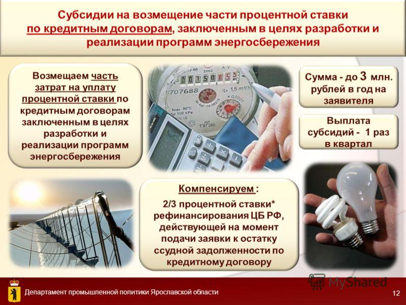 Департамент промышленной политики Ярославской области 1212