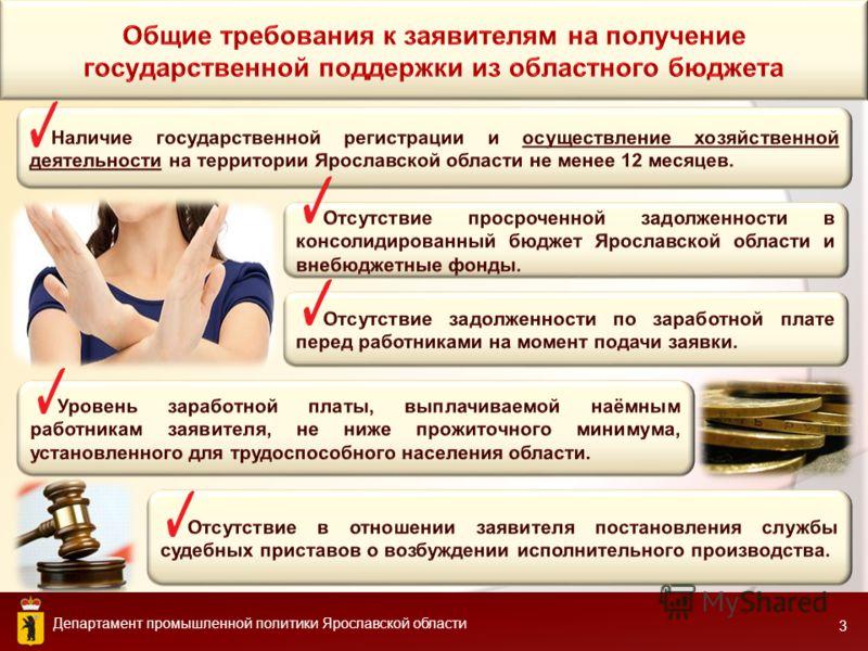 Департамент промышленной политики Ярославской области 3
