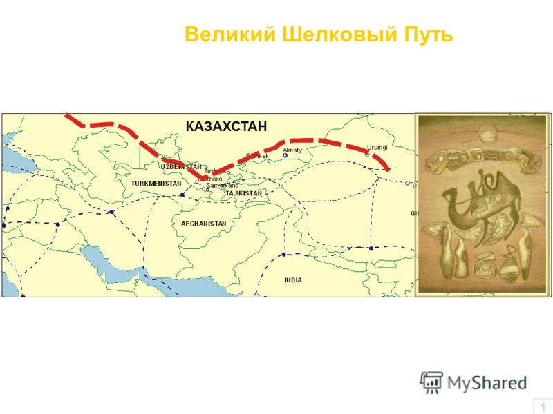 КАЗАХСТАН Великий Шелковый Путь 1