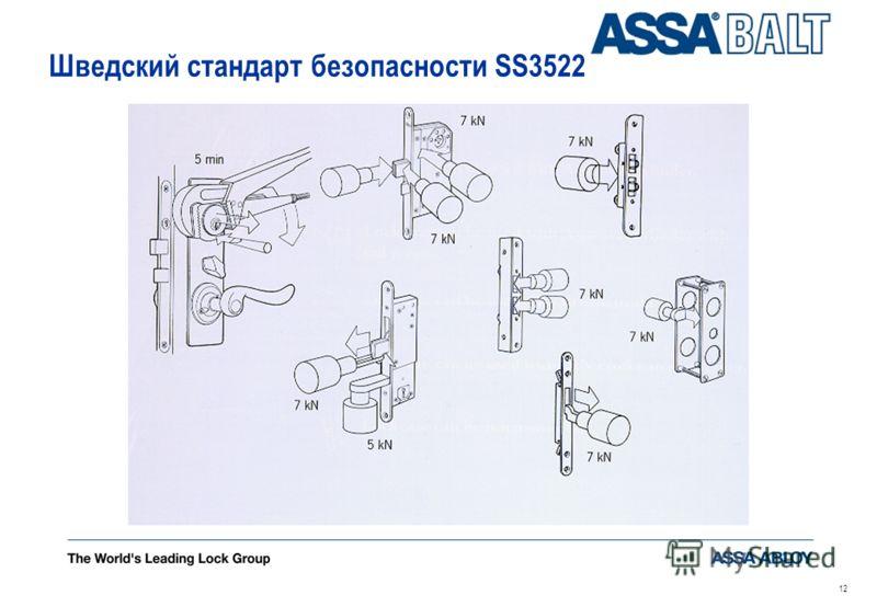 11 III категория: комплектный замок, используемый там, где необходимость в противовзломной защите предпочтительнее, чем быстрое открывание замка не менее чем 6-ти штифтовый двусторонний цилиндр, т.е. замок должен и изнутри открываться только ключом з
