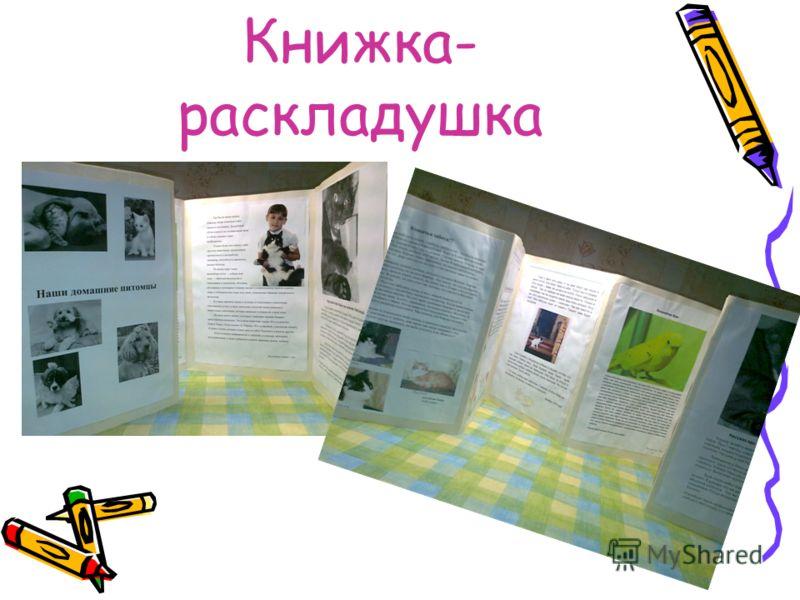 Книжка- раскладушка