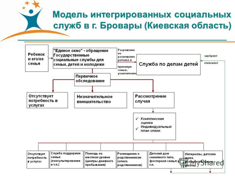 Модель интегрированных социальных служб в г. Бровары (Киевская область)