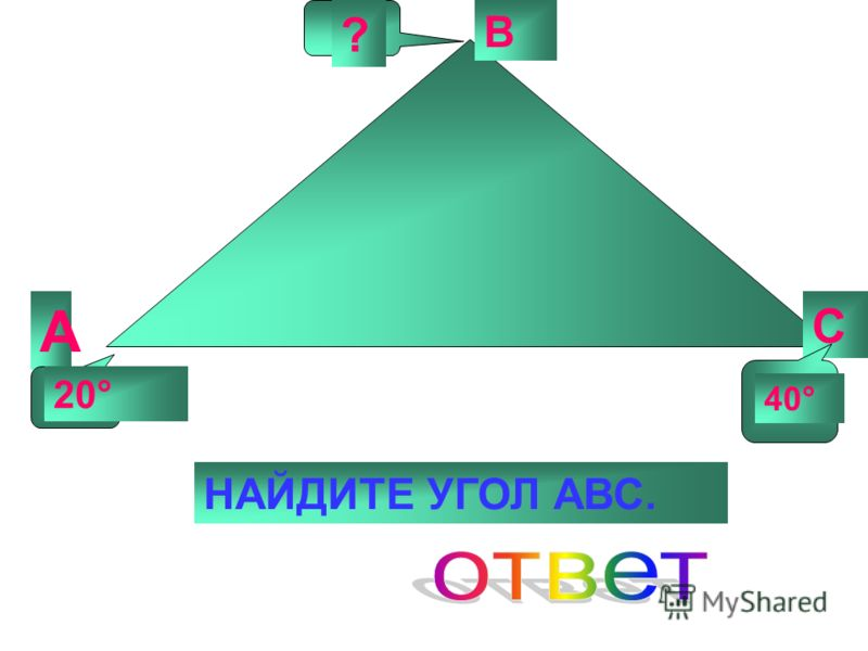 3. Соотнесите: А)180° 1) Б)90° 2) В)360° 3) А