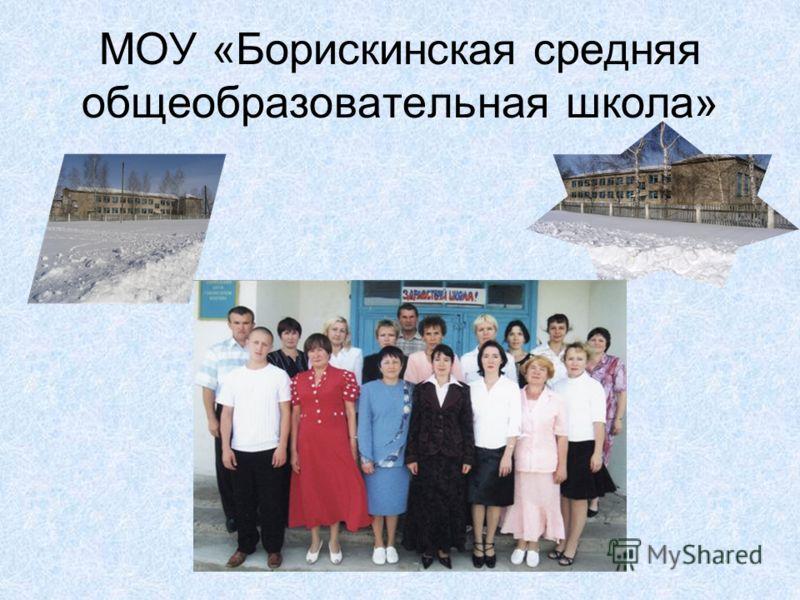 МОУ «Борискинская средняя общеобразовательная школа»