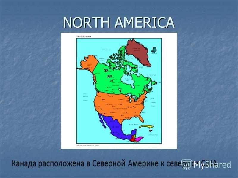 NORTH AMERICA NORTH AMERICA