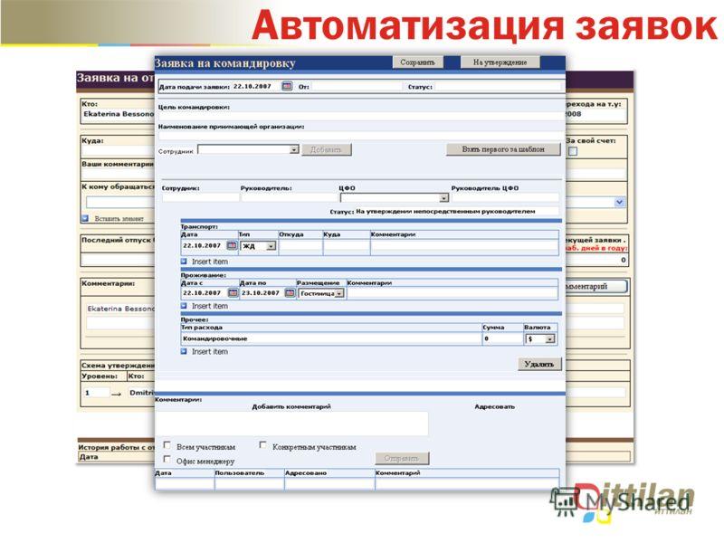 Автоматизация заявок