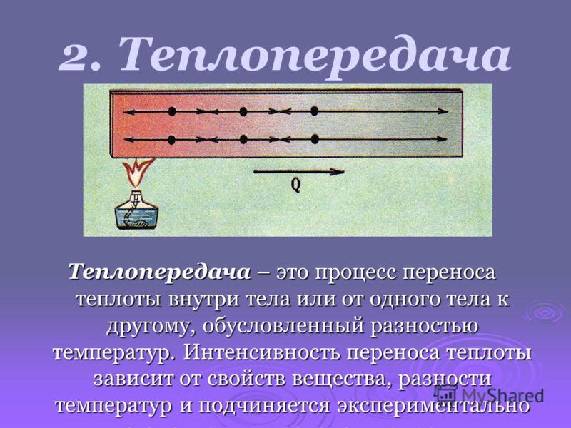 ТЕПЛОТА Тепловой баланс тела человека зависит также от температуры окружающей среды, и люди вынуждены расходовать много энергии на обогрев жилых и производственных помещений зимой и на охлаждение их летом. Большую часть этой энергии поставляют теплов