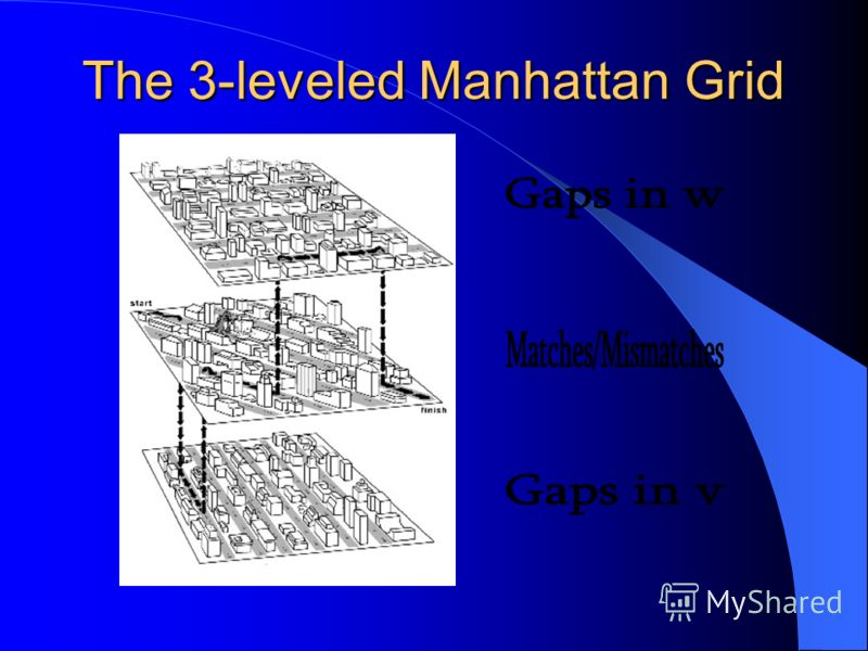 The 3-leveled Manhattan Grid