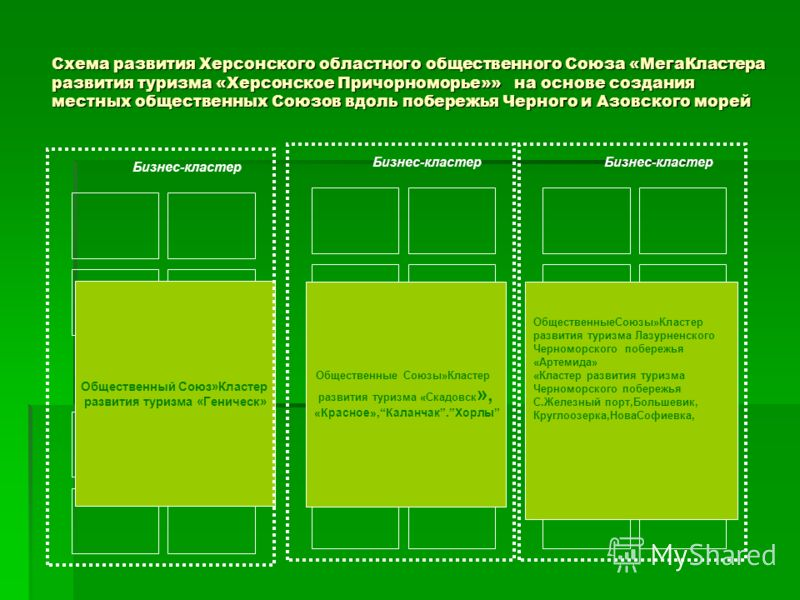 Схема развития Херсонского