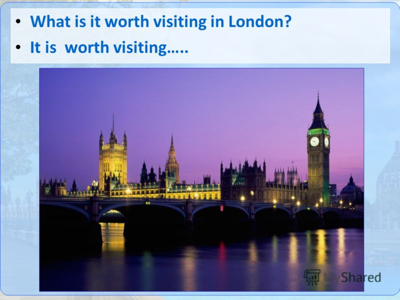True or false London is the capital of France The biggest and the most famous clock in Britain is Big Ben Hyde Park is famous for London Zoo London stands on the river Thames Madame Tussaud's museum is famous for its towers The popular square for tou