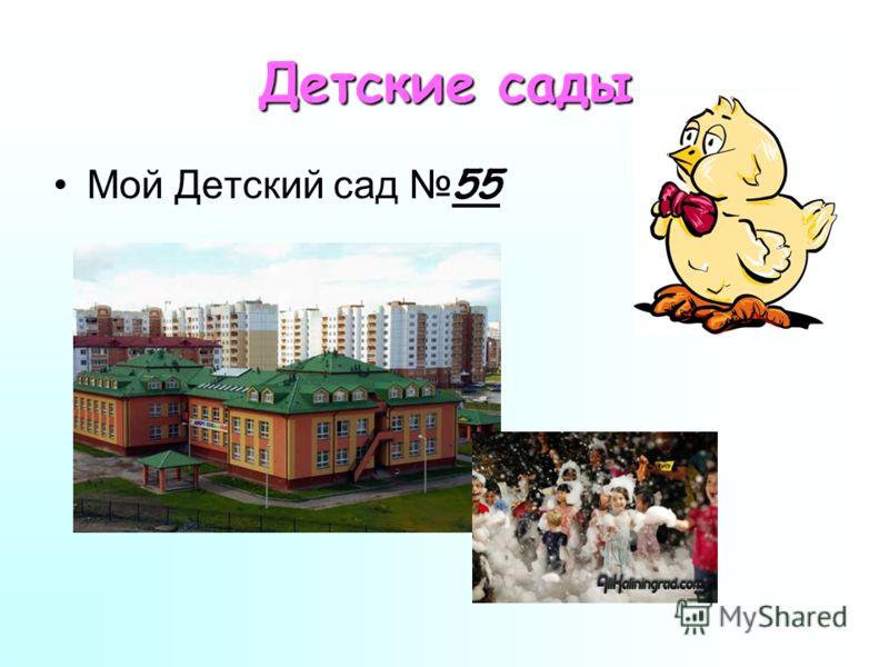 Детские сады Мой Детский сад 55
