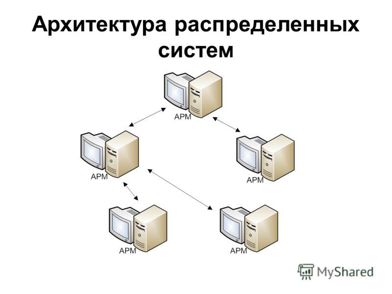 Архитектура распределенных систем