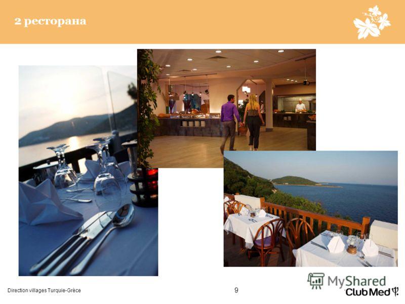 Direction villages Turquie-Grèce 9 2 ресторана