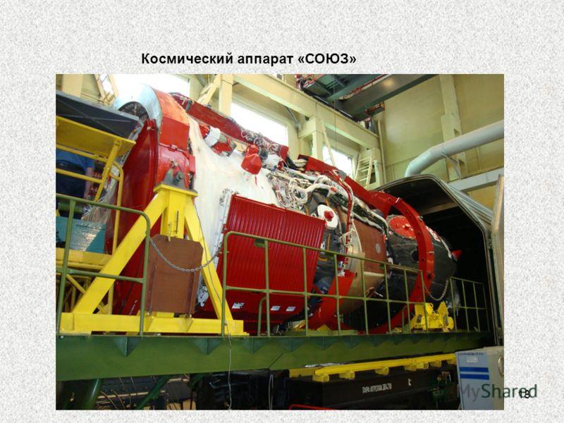 18 Космический аппарат «СОЮЗ»