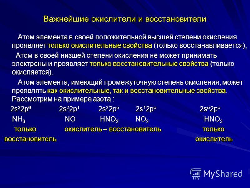 Типы ОВР Если элементы, изменяющие степень окисления, находятся в составе разных молекул, то такие окислительно- восстановительные реакции называются межмолекулярными ОВР, например: Если элементы, изменяющие степень окисления, находятся в составе раз
