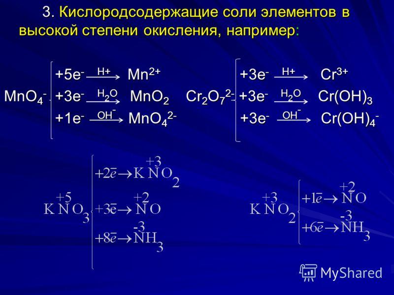 Важнейшие окислители. Важнейшие окислители. 1. Все неметаллы по отношению к простым веществам (к металлам, к неметаллам с меньшей электроотрицательностью) являются окислителями. Из них наиболее сильными окислителями являются галогены, кислород, озон