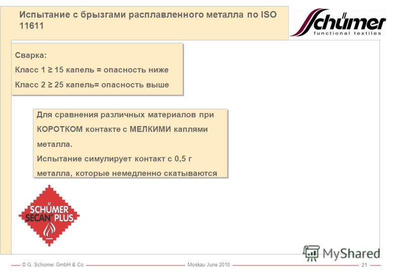 Защита от опасных факторов металлорезки и сварки Schümer SECAN®