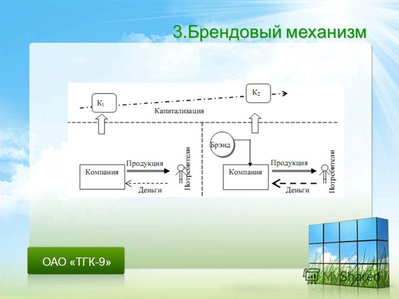ОАО «ТГК-9» 3.Брендовый механизм