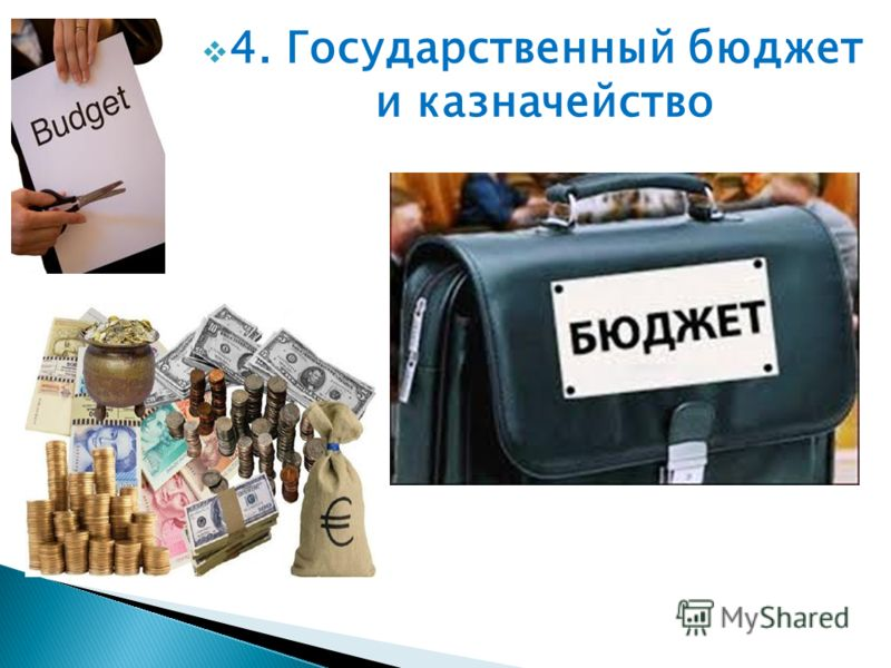 4. Государственный бюджет и казначейство