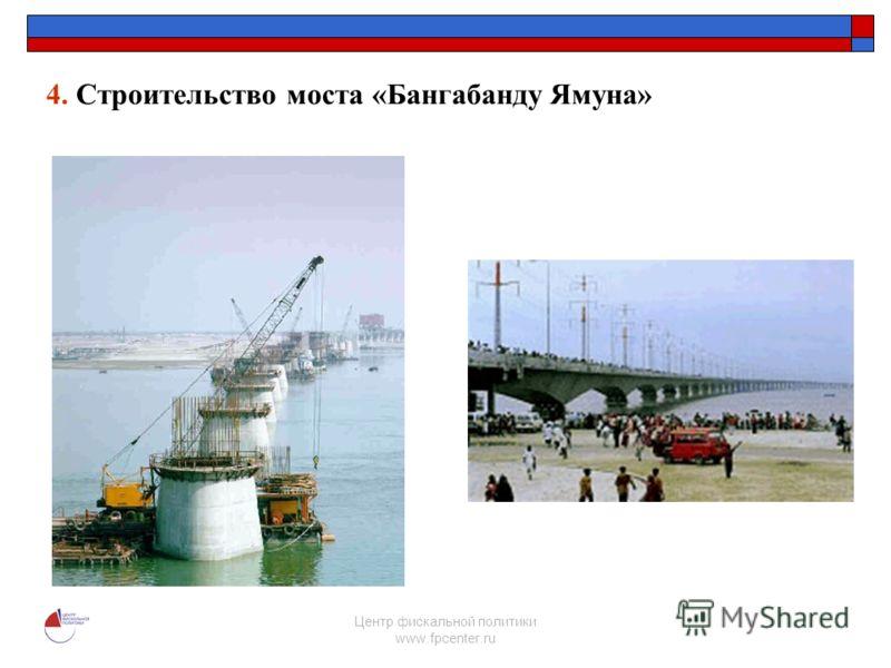 Центр фискальной политики www.fpcenter.ru 4. Строительство моста «Бангабанду Ямуна»