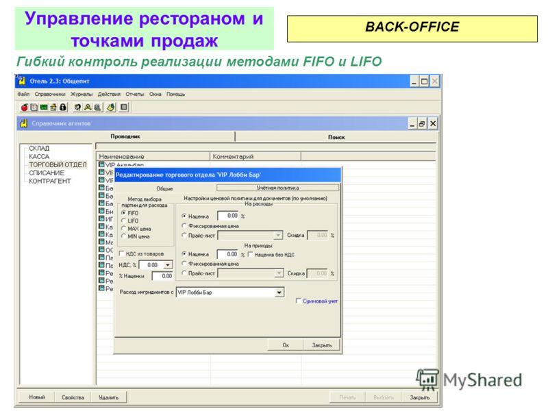 Расход на производство BACK-OFFICE - ПРОИЗВОДСТВО Управление рестораном и точками продаж