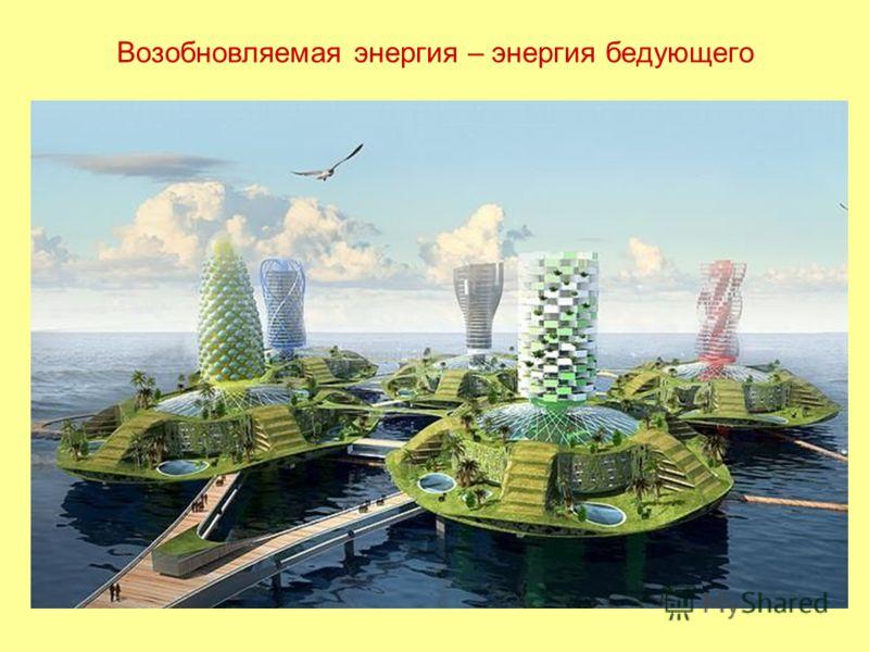 Возобновляемая энергия – энергия бедующего