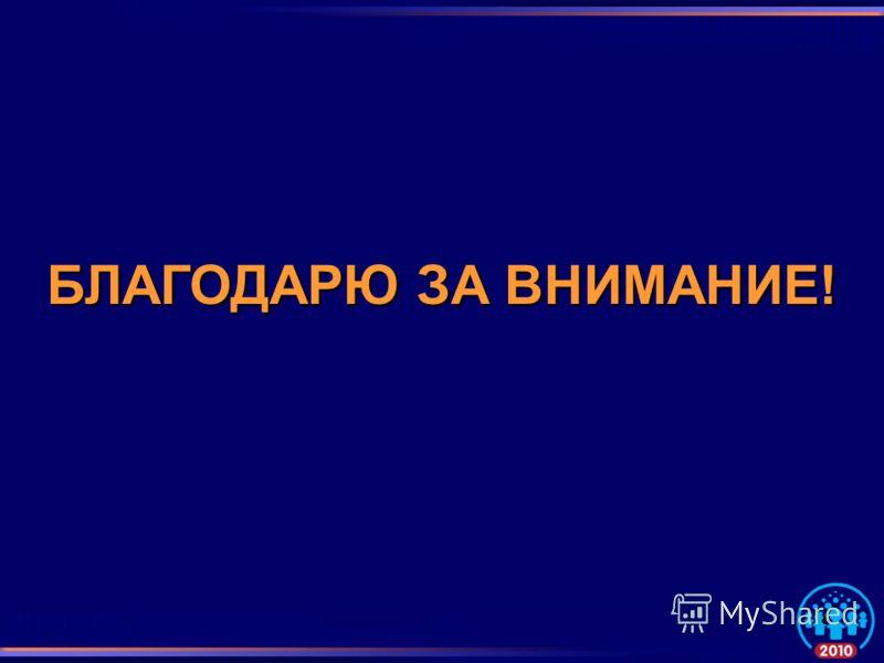БЛАГОДАРЮ ЗА ВНИМАНИЕ! 18