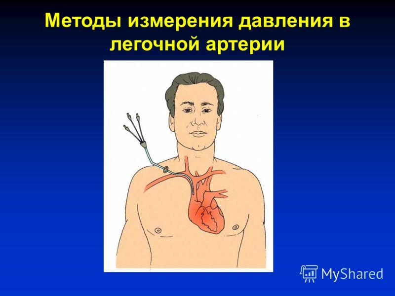 5 Методы измерения давления в легочной артерии