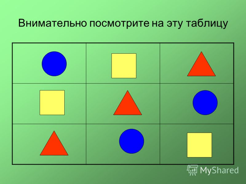 Внимательно посмотрите на эту таблицу