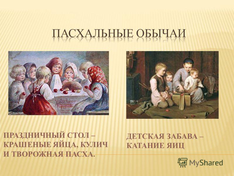 САМОЦВЕТИЕ ЯИЦ И УЛЫБКИ МИЛЫХ ЛИЦ, СВЕТЛОЙ РАДОСТИ ЧУДЕС, ХРИСТОС ВОСКРЕС!