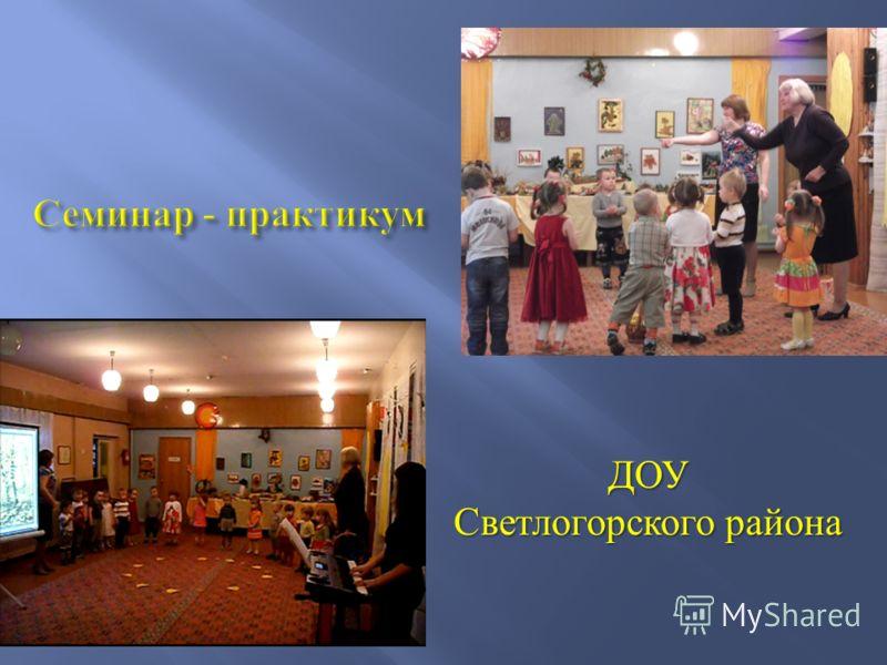 ДОУ Светлогорского района