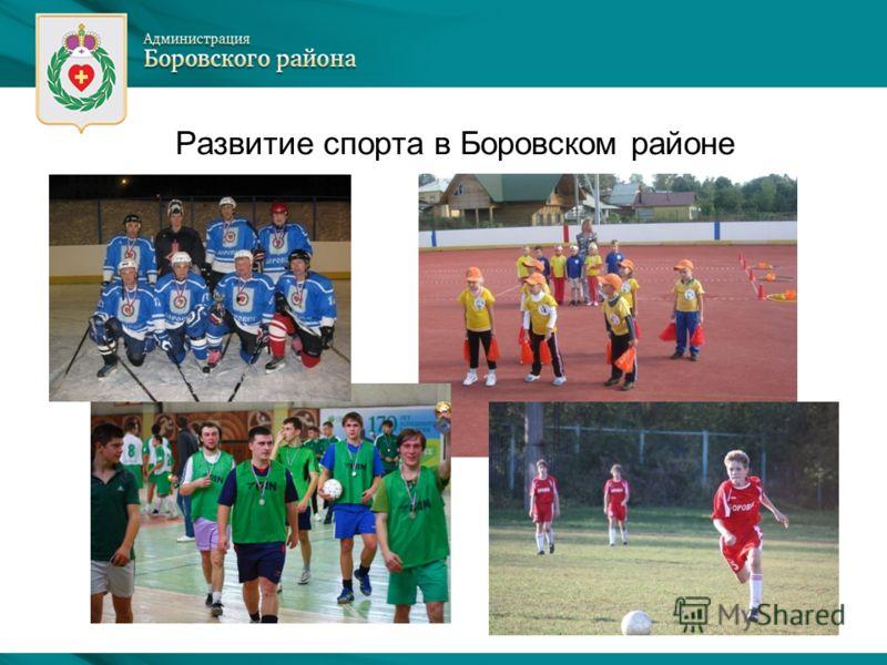 Развитие спорта в Боровском районе