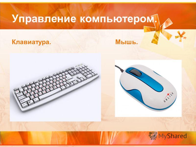 Управление компьютером. Клавиатура.Мышь.
