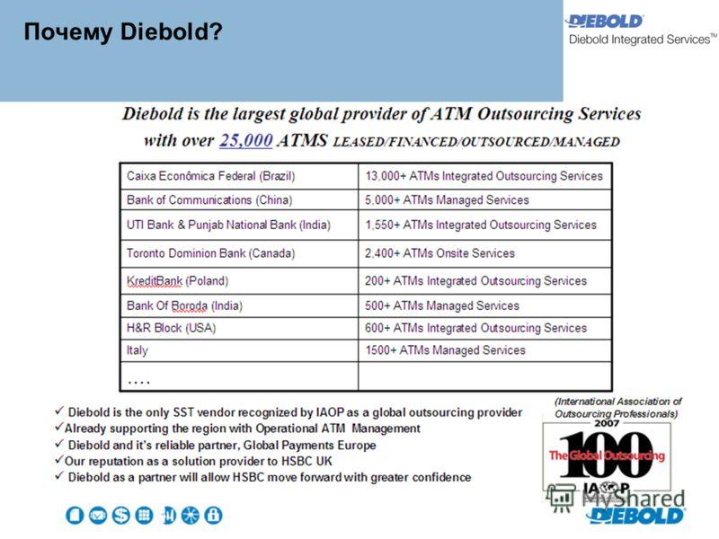 Почему Diebold?