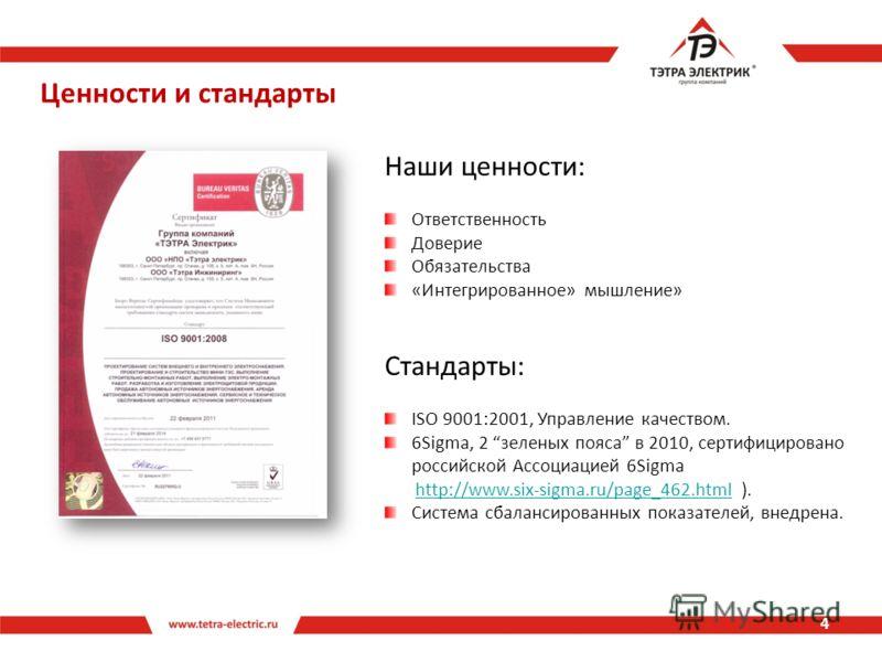 Ценности и стандарты 4 Наши ценности: Ответственность Доверие Обязательства «Интегрированное» мышление» Стандарты: ISO 9001:2001, Управление качеством. 6Sigma, 2 зеленых пояса в 2010, сертифицировано российской Ассоциацией 6Sigma http://www.six-sigma