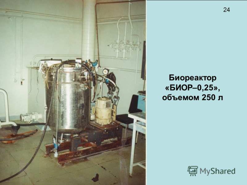 Биореактор «БИОР–0,25», объемом 250 л 24