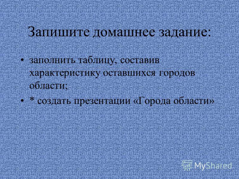 Оцените себя! Семь –восемь правильных ответов – оценка «5» Шесть- пять правильных ответов – оценка «4» Четыре правильных ответа – оценка «3» Менее четырех правильных ответов – вам требуется ещё раз изучить особенности городов Белгородской области