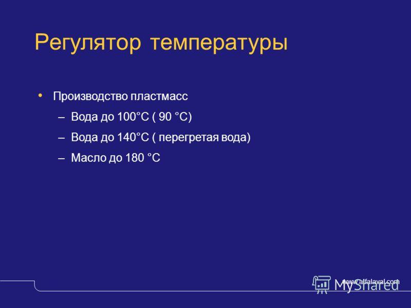 www.alfalaval.com © Alfa LavalSlide 20 Обработка поверхности – критерии выбора Свойства жидкостиобычно агрессивная жидкость, кислота или щелочь Температураразличная, обычно 50-80°C ТеплообменникM3, M6-M, M10-M Выбор материалаиндивидуально для каждого