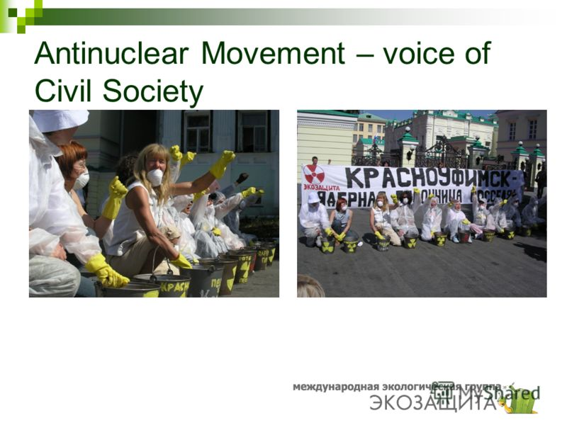 Antinuclear Movement – voice of Civil Society