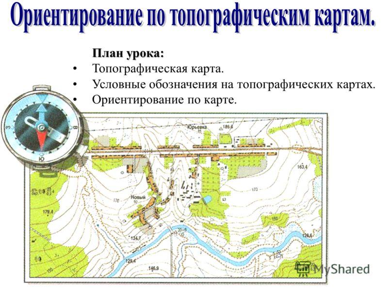 Топографический План И Топографическая Карта Презентация