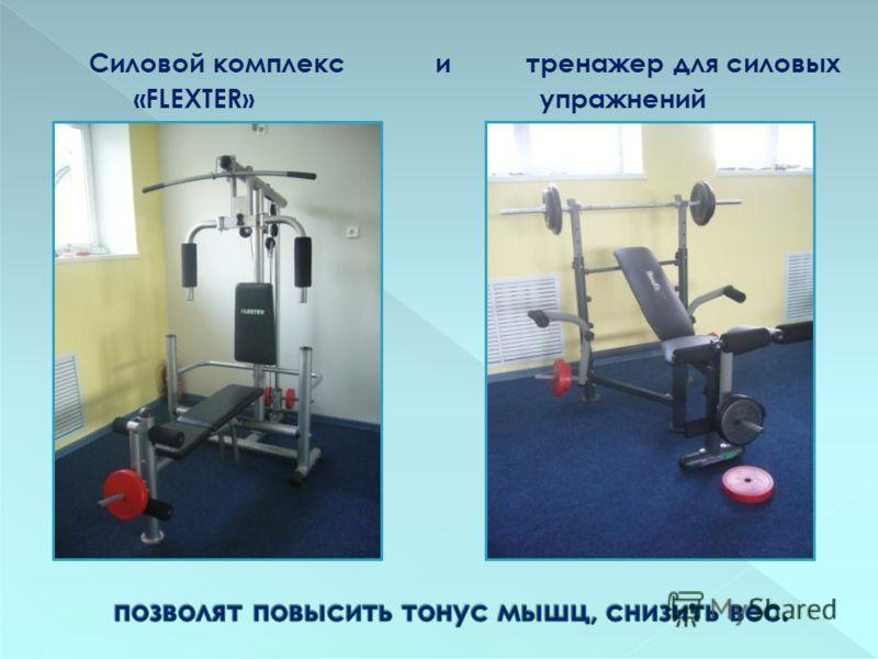 Силовой комплекс и тренажер для силовых «FLEXTER» упражнений