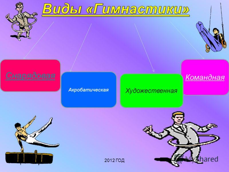 Снарядовая Командная Художественная Акробатическая 2012 ГОД