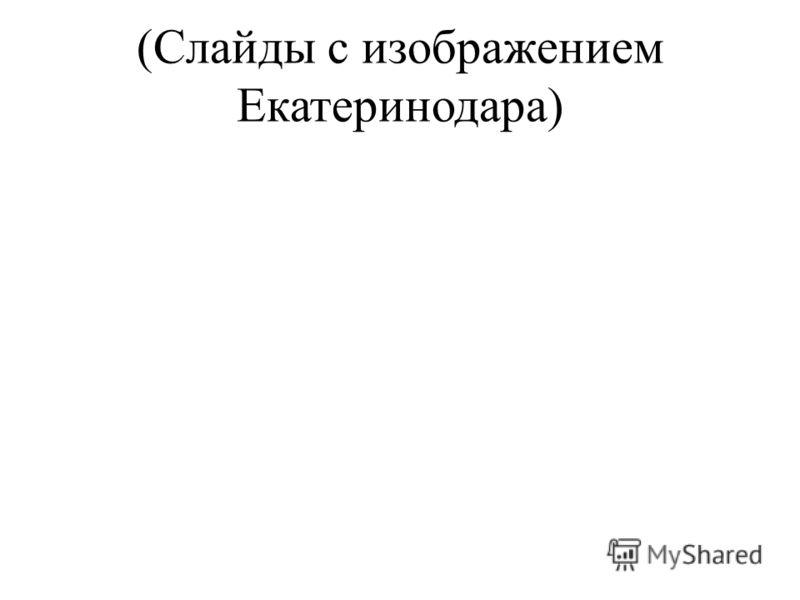 (Слайды с изображением Екатеринодара)