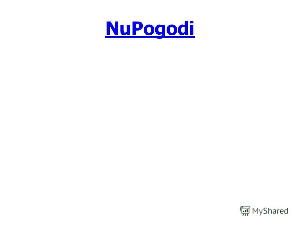 NuPogodi