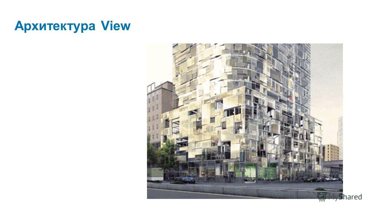 Архитектура View